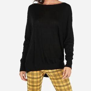 Express Oversized Black Sweater